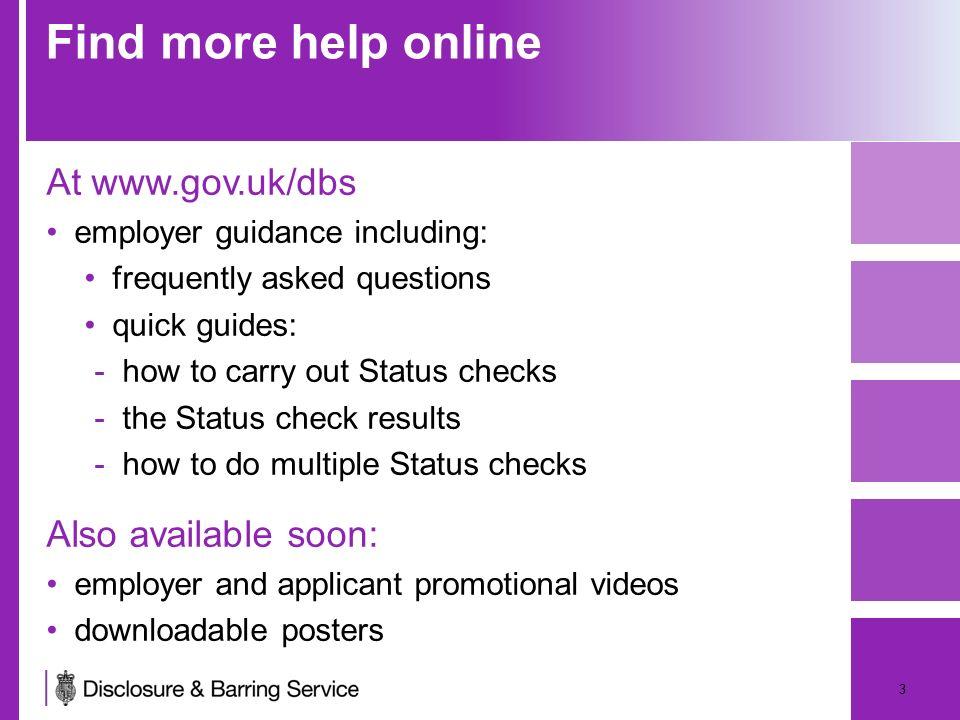 dbs update service employer presentation date may 2013version ppt