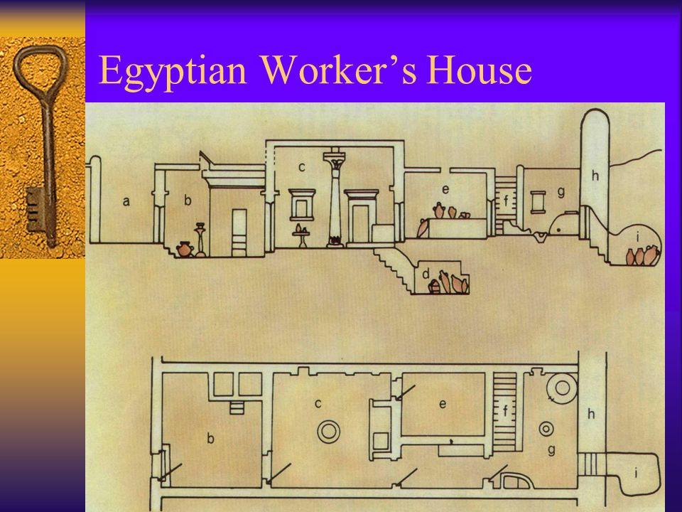 Ancient egypt 2000 wadsworth thomson learning ppt download 4 egyptian workers house ccuart Choice Image