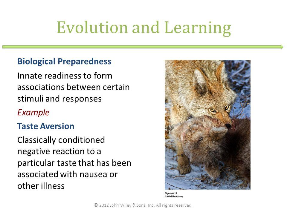 example of biological preparedness