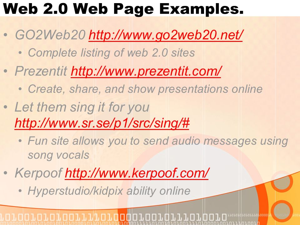 Web 10 Vs Web 20 Shift From The Read To The Write Web Ppt Download