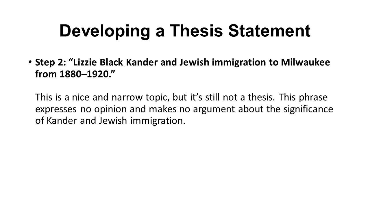 Essay on immigration
