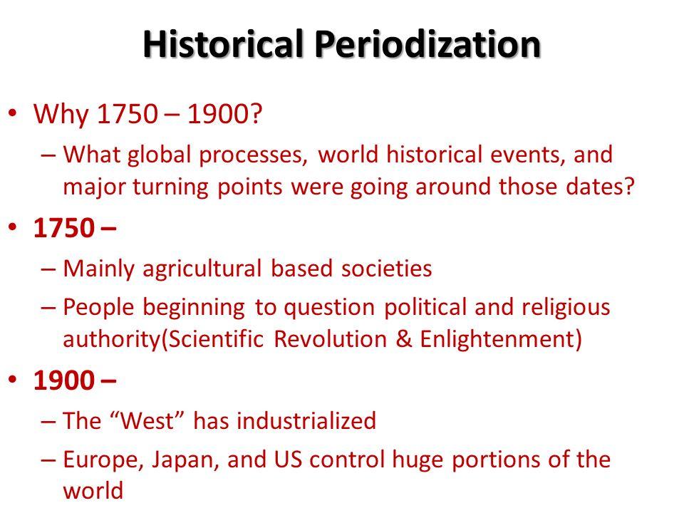 1750 to 1900 world history