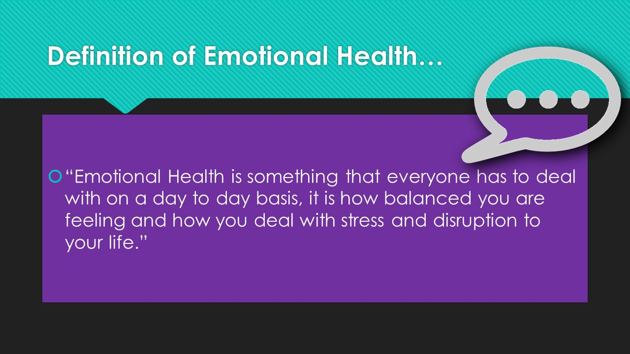 emotional health lesson 2: dealing with emotional health careers