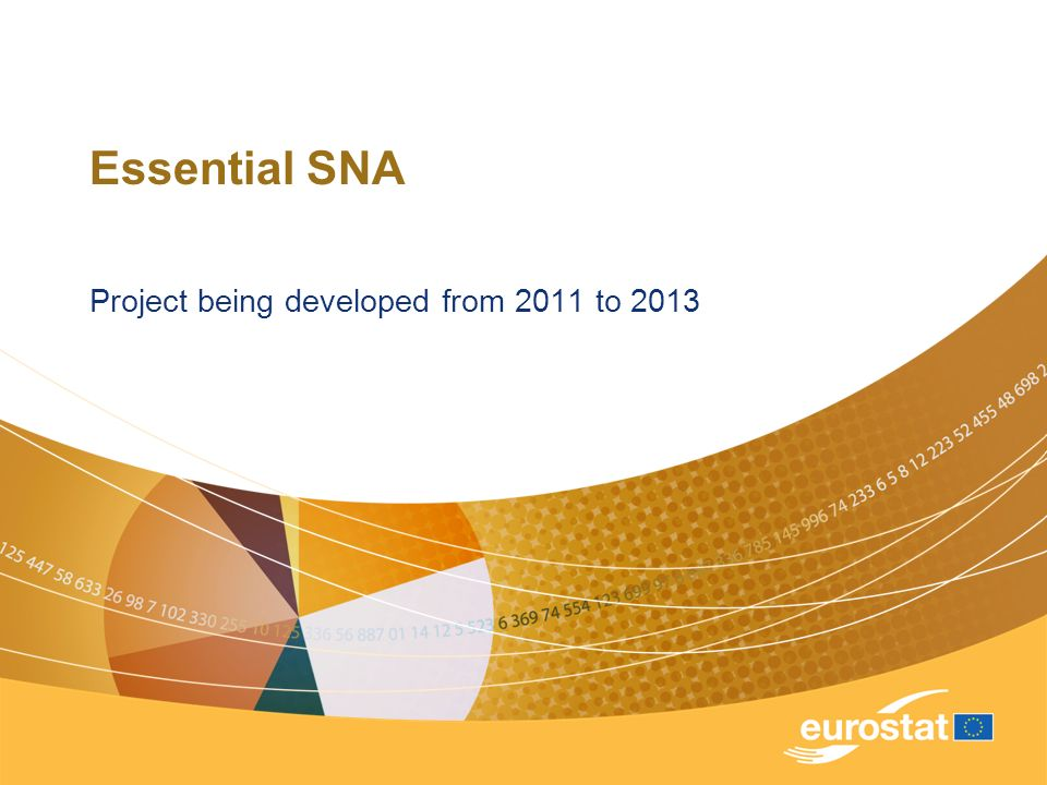 Essential SNA Project being developed from 2011 to 2013