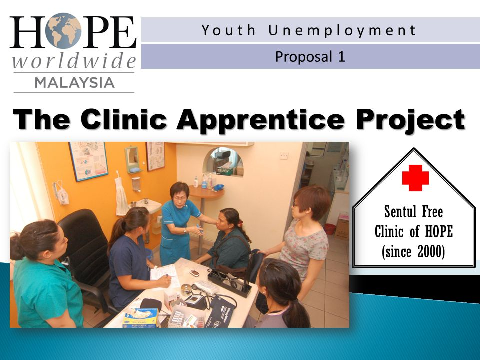 The Clinic Apprentice Project Sentul Free Clinic of HOPE