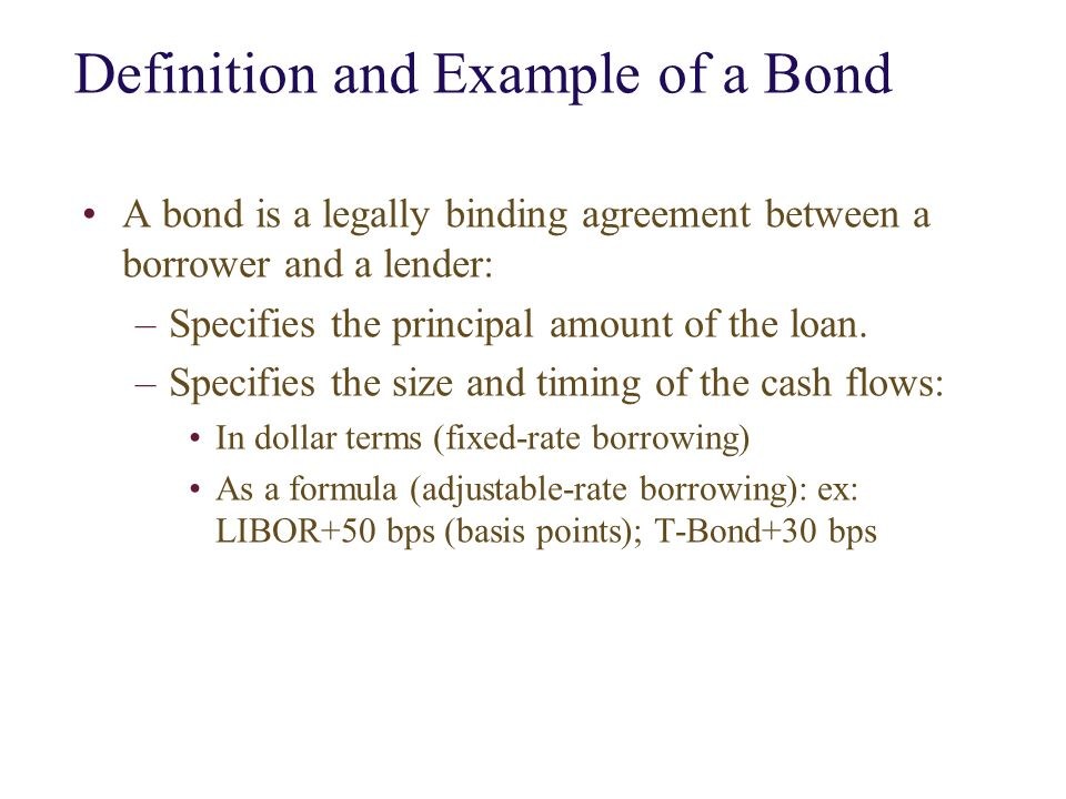 6 0 The Valuation Of Bond Using Dcf 6 1 The Size Of Bond Vs Stock