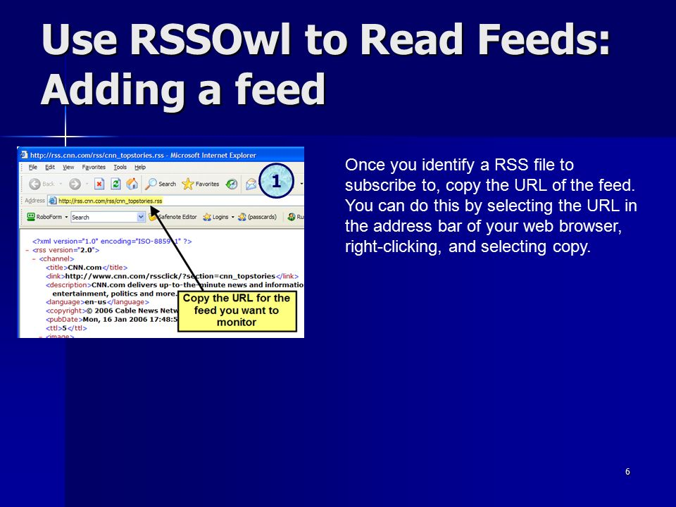 1 RSS The Easy Way! Reading & Creating Feeds with Free and Easy to