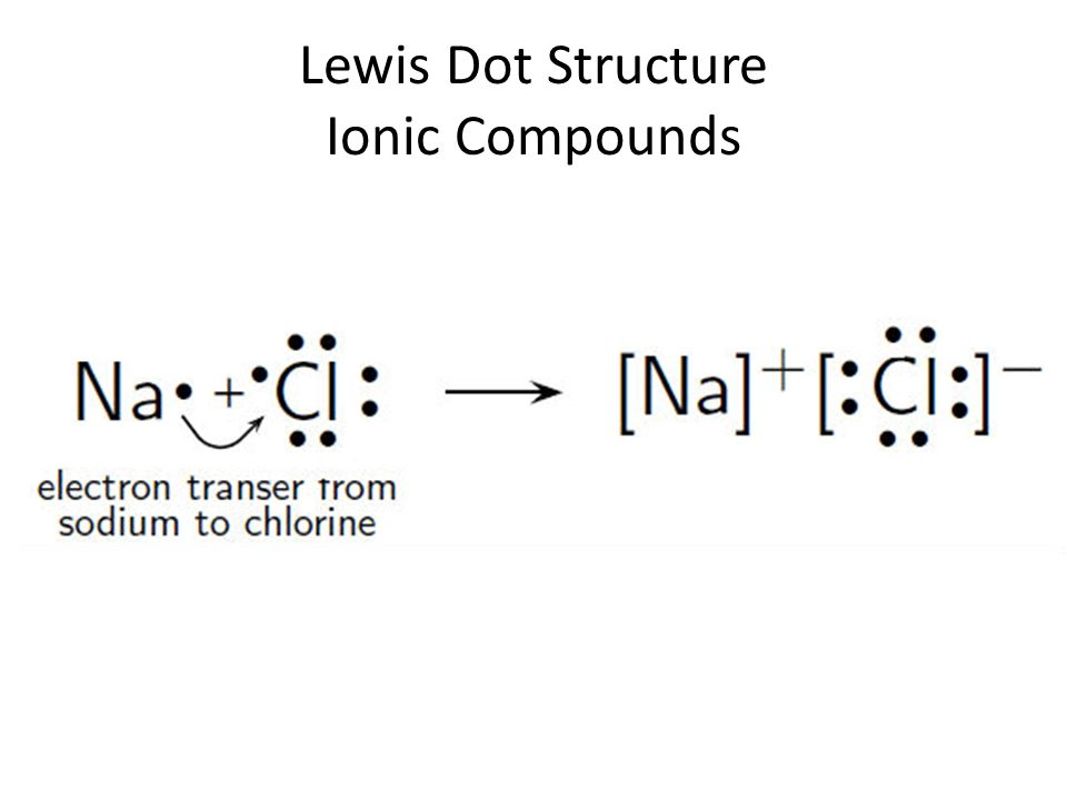3 lewis dot structure ionic compounds