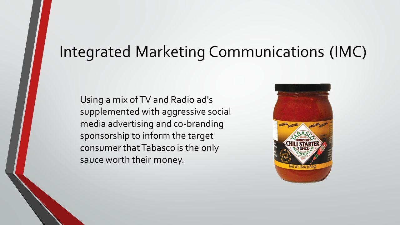 Promotions Case Study Tabasco 7 Spice Chili Recipe Marketing Ahmad Kareh Collaborated On By Brayden Jones Brandon Deboer Hayley Broadhead Ppt Download