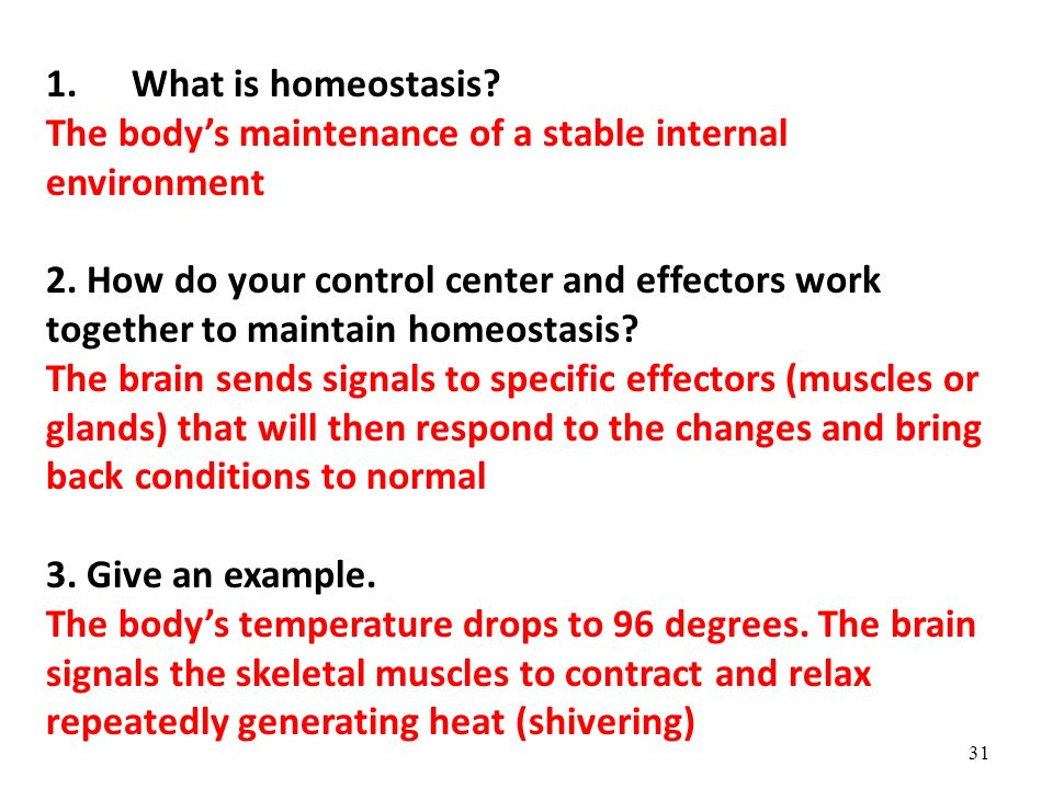 Homeostatic imbalance: definition & examples video & lesson.