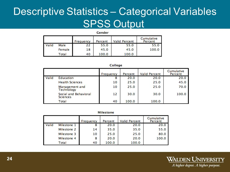 SPSS Basics and Applications Workshop: Introduction to Statistics
