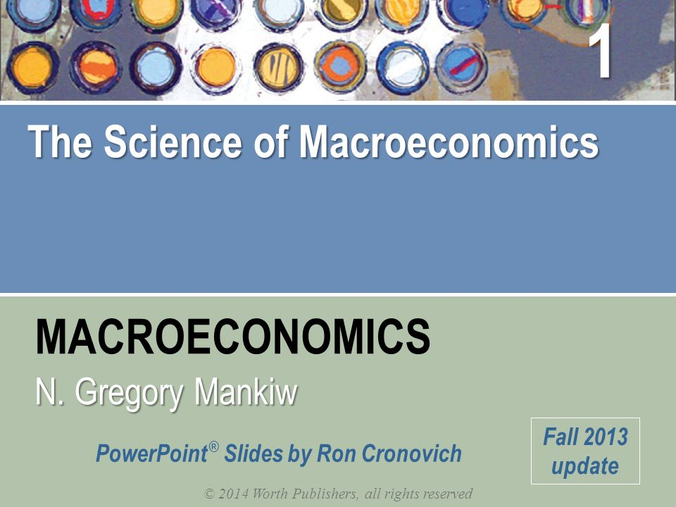 Macroeconomics: 2014 Update