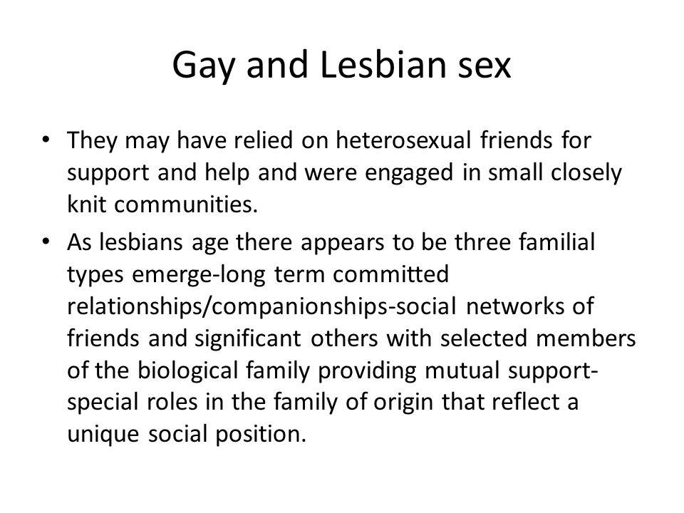 Types of lesbian sex