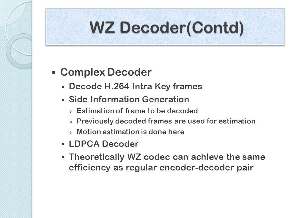 Sub pixel motion estimation for Wyner-Ziv side information
