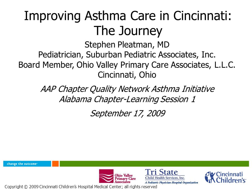 Improving Asthma Care In Cincinnati The Journey Stephen Pleatman