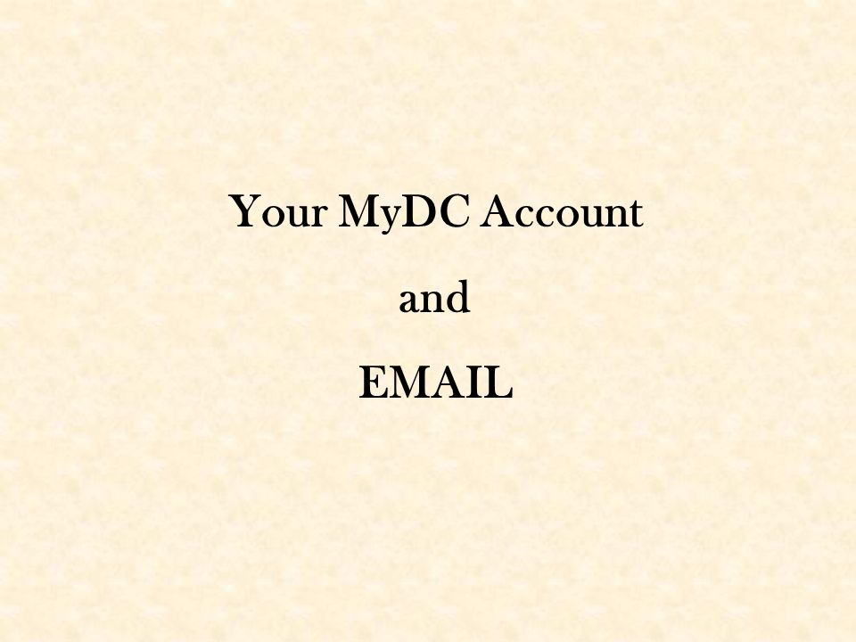 Your Mydc Account And From The Darton Homepage At Click On The