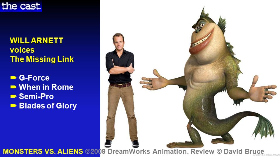 Monsters Vs Aliens Cast Crew Story Theme Review Muse En Scene Life Connections Ppt Download