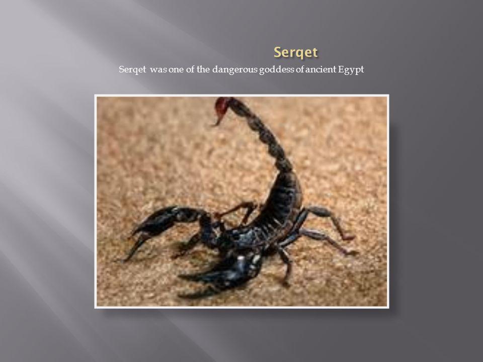 Resultado de imagen para SERKET SCORPION