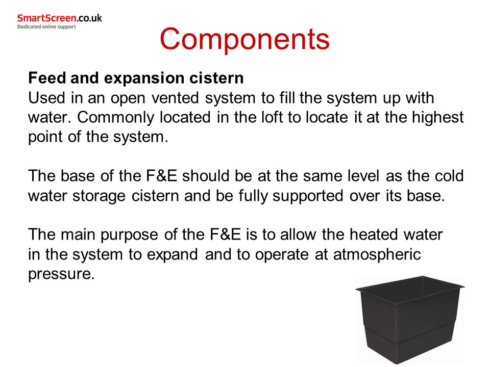Outcome 1 (part 2) Types of domestic central heating systems ...