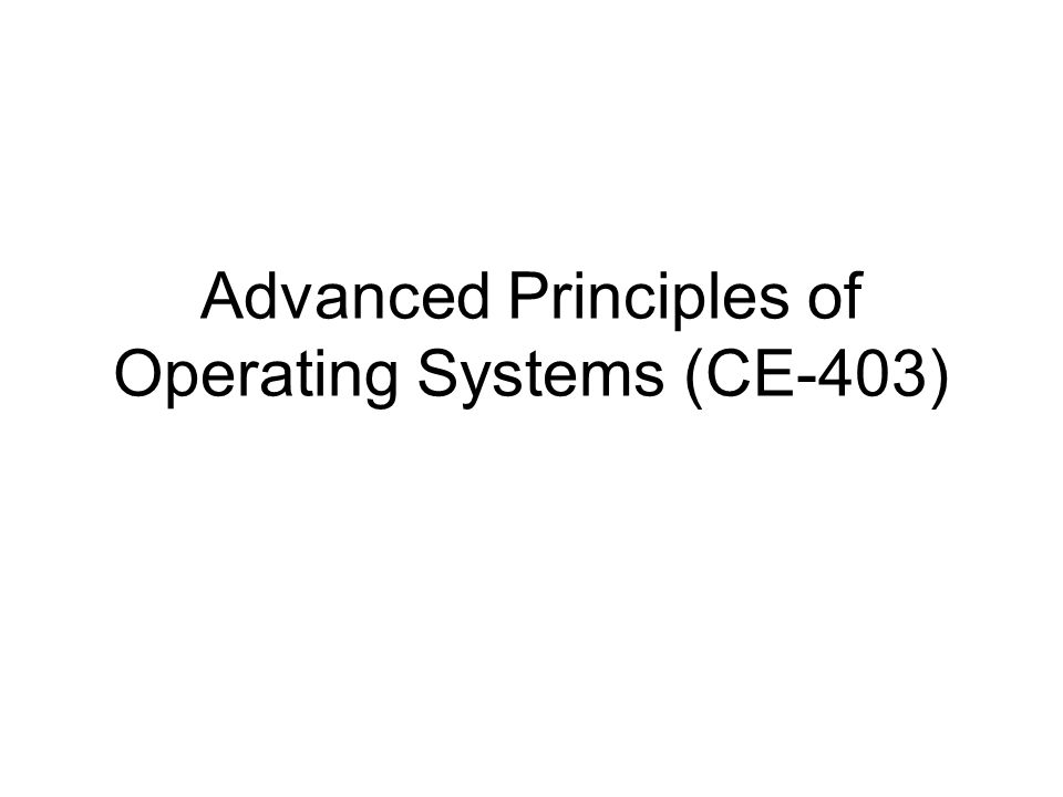 Advanced Concepts In Operating Systems By Singhal And Shivratri Pdf