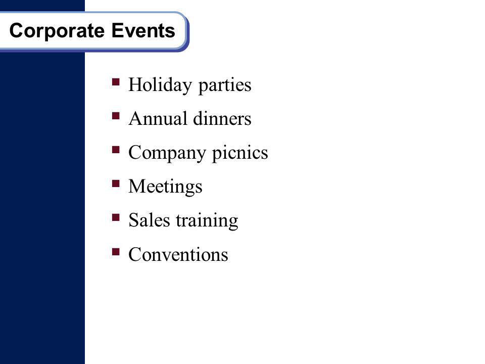 Introduction To Event Management What Is Event Introduction - Type-of-corporate-events