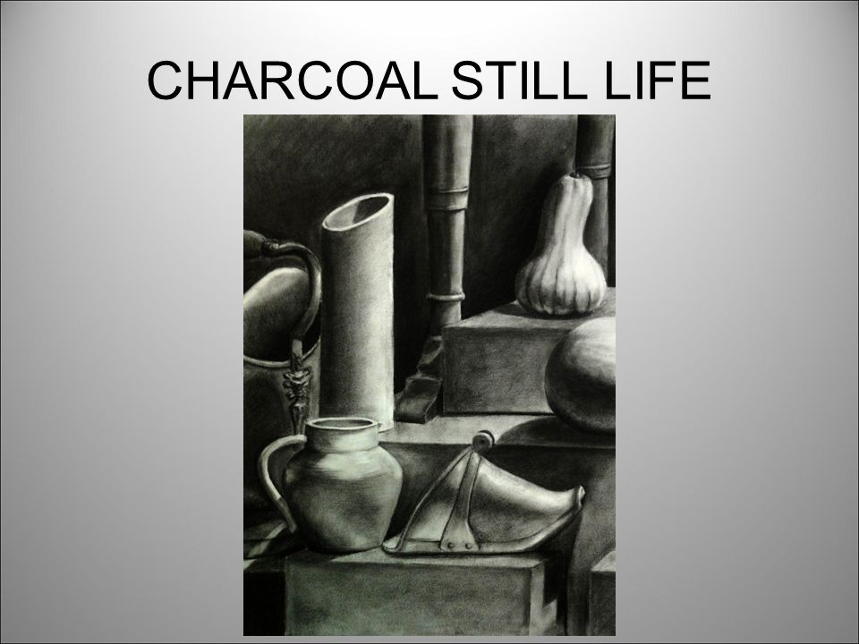 Still Life Observational Drawing Focus: Contour Drawing