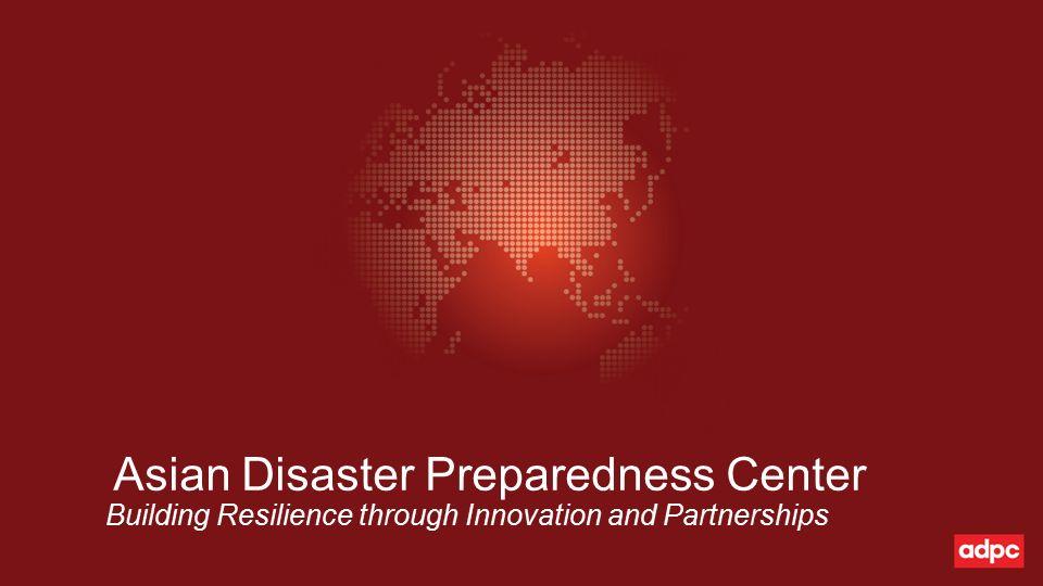 1 Asian Disaster Preparedness ...