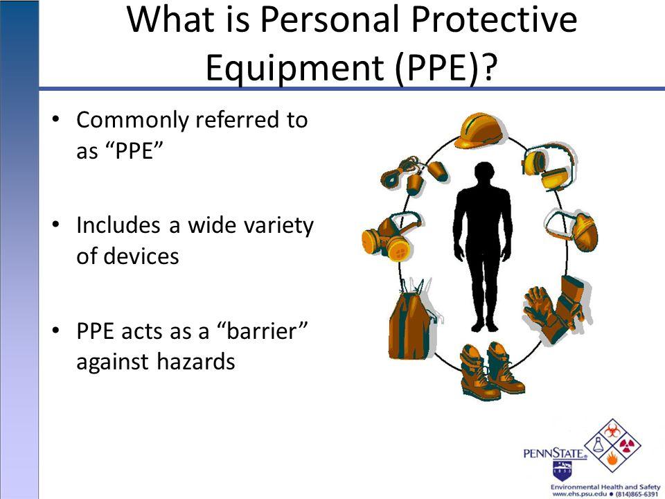 Penn State University Environmental Health and Safety Hazard
