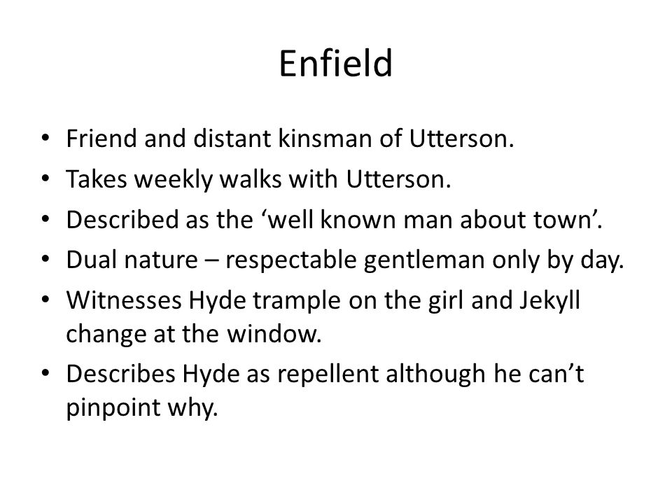 Jekyll And Hyde Revision Jekyll And Hyde Characters Utterson Lanyon