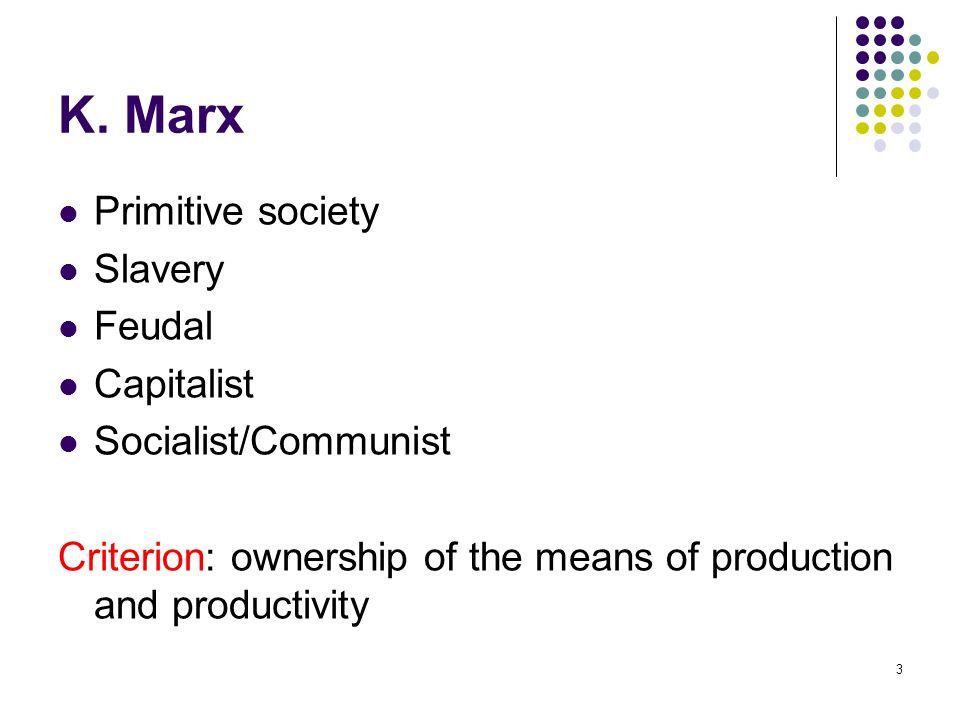 primitive society in economics