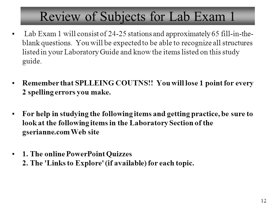 1 Biology 102 Laboratory 7 Microcirculation. 2 Objectives for Lab 7 ...