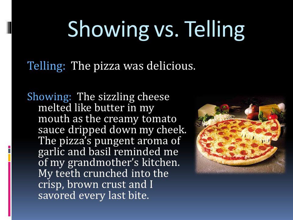 descriptive essay on pizza