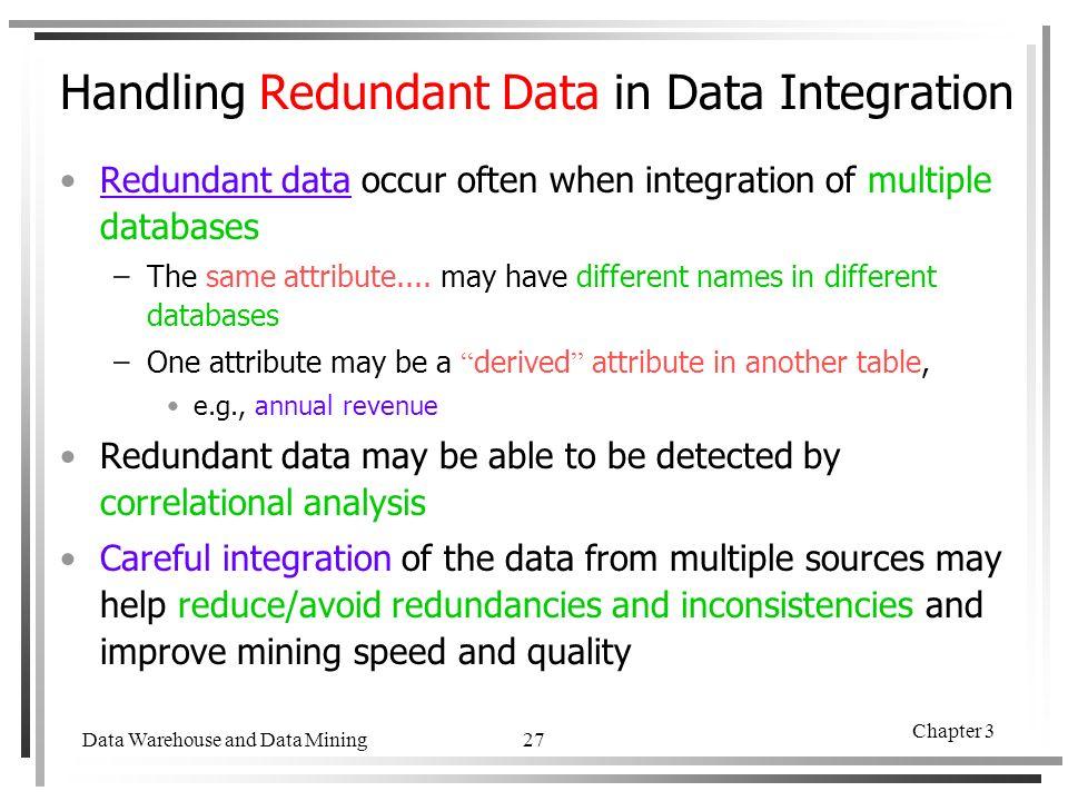 Chapter 3 Data Mining  Data Warehouse and Data Mining Chapter 3 2