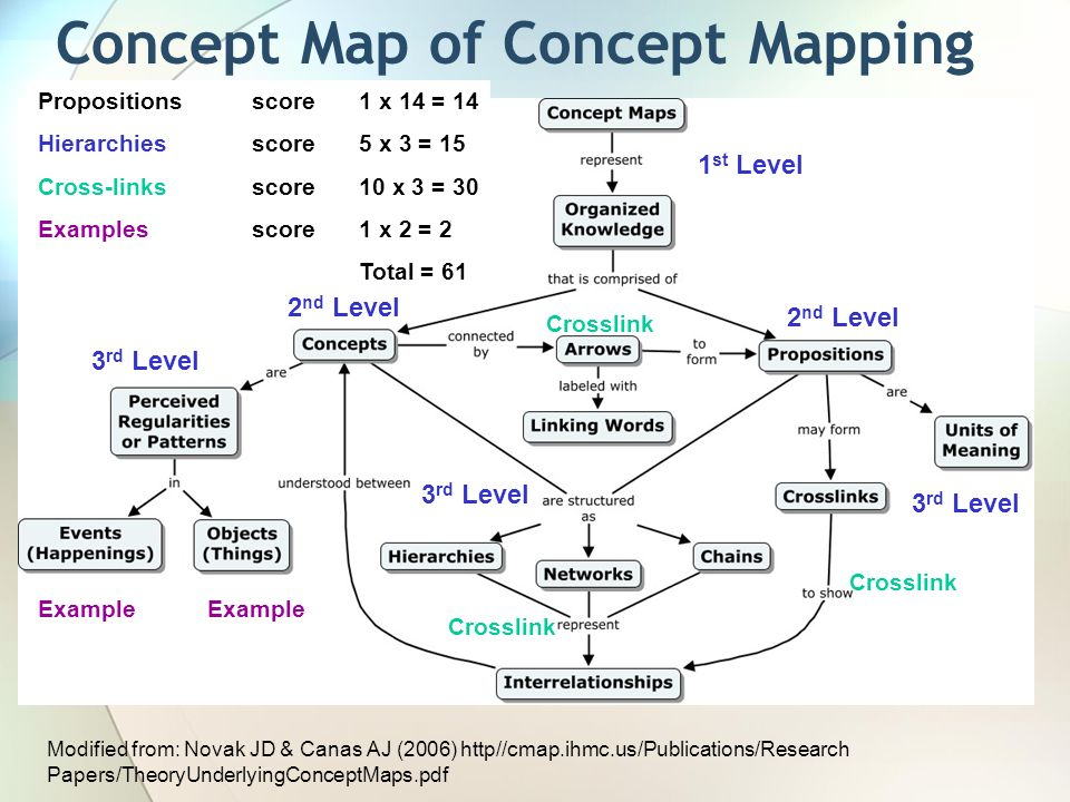 Concept Map Research Paper.Concept Mapping As A Window Into Student Understanding Biology