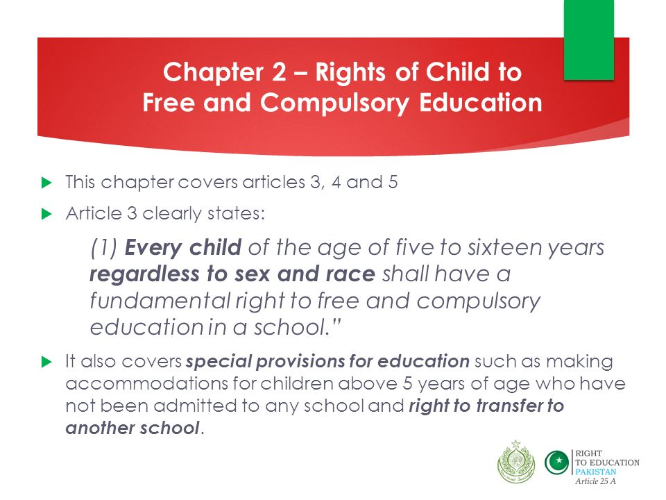 The Sindh Right of Children to Free and Compulsory Education
