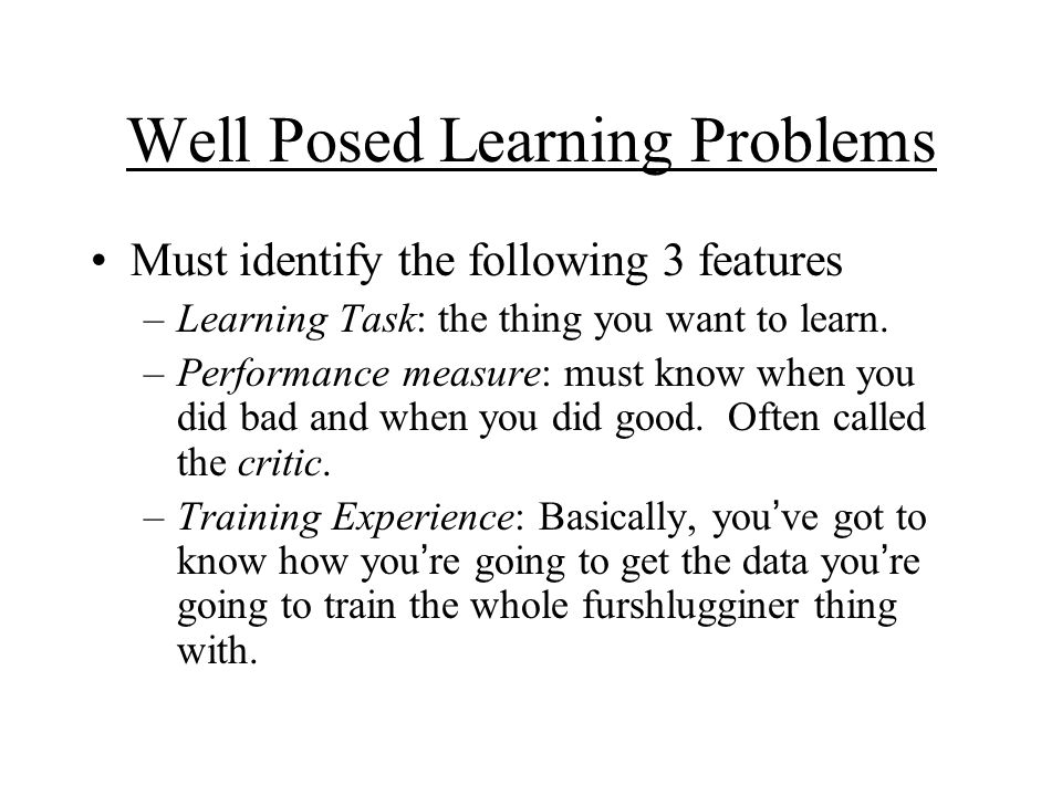 successful learning experience examples