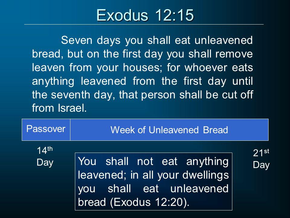 Kuvahaun tulos haulle Exodus 12:15
