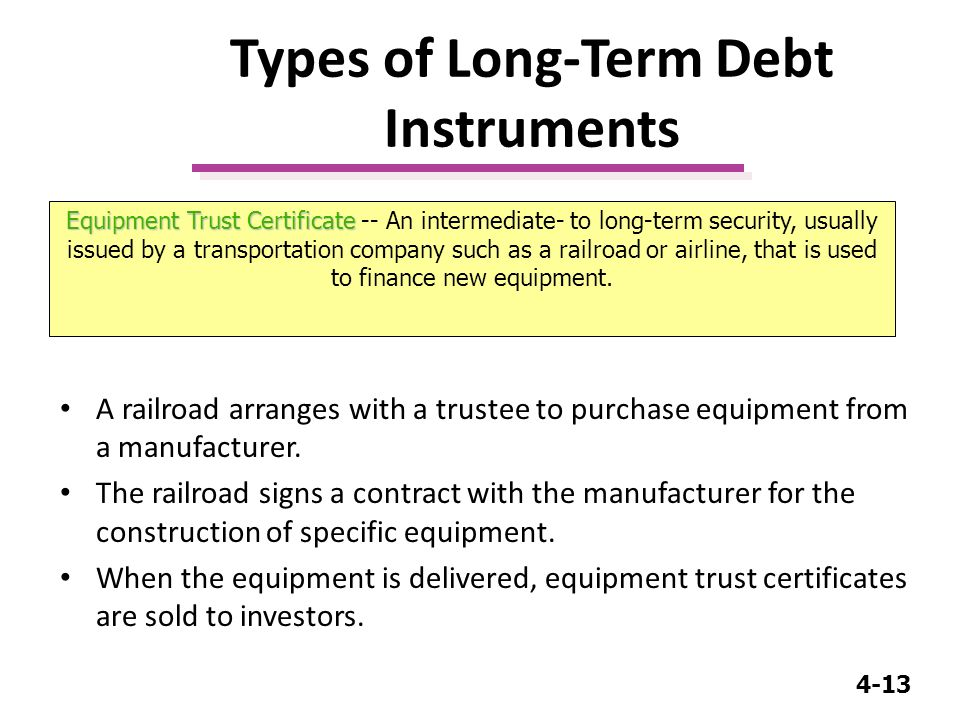 4 1 Business Finance Mgt 232 Lecture Long Term Debt Preferred