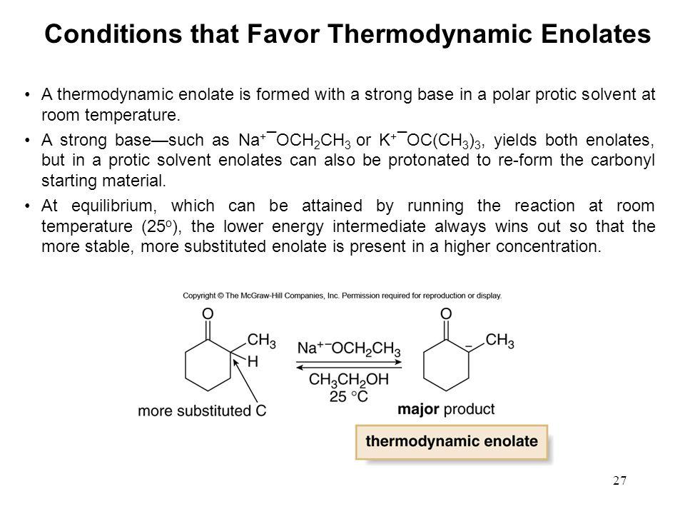 1 Enol Enolate Condensations Chapter Enolate Nucleophilic