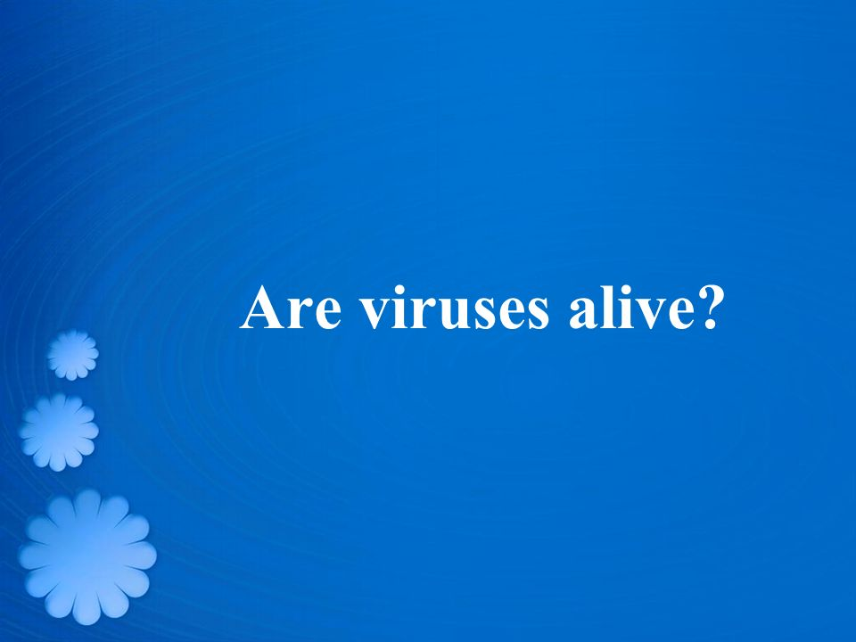 Are viruses alive