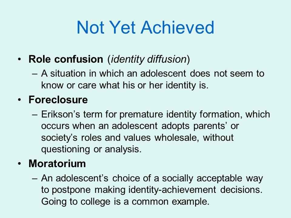 identity achievement in adolescence