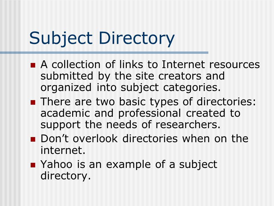 Internet Research Tips Daniel Fack Internet Research Tips The
