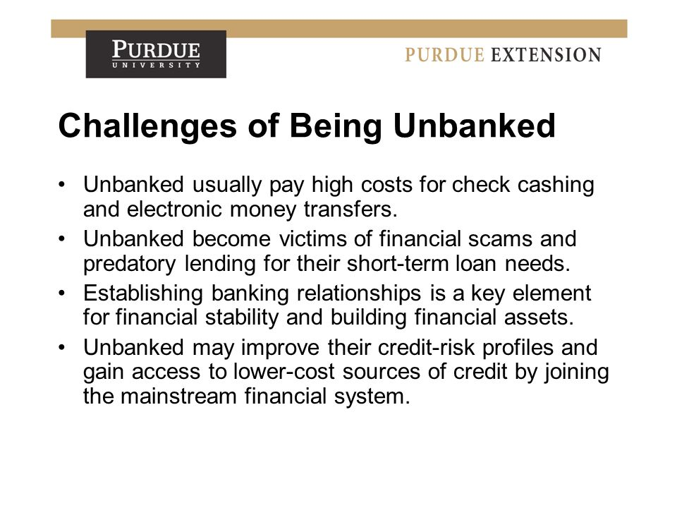Improving Relationships with Financial Institutions