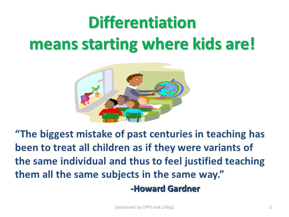 Differentiated Instruction Differentiated Instruction Strategy