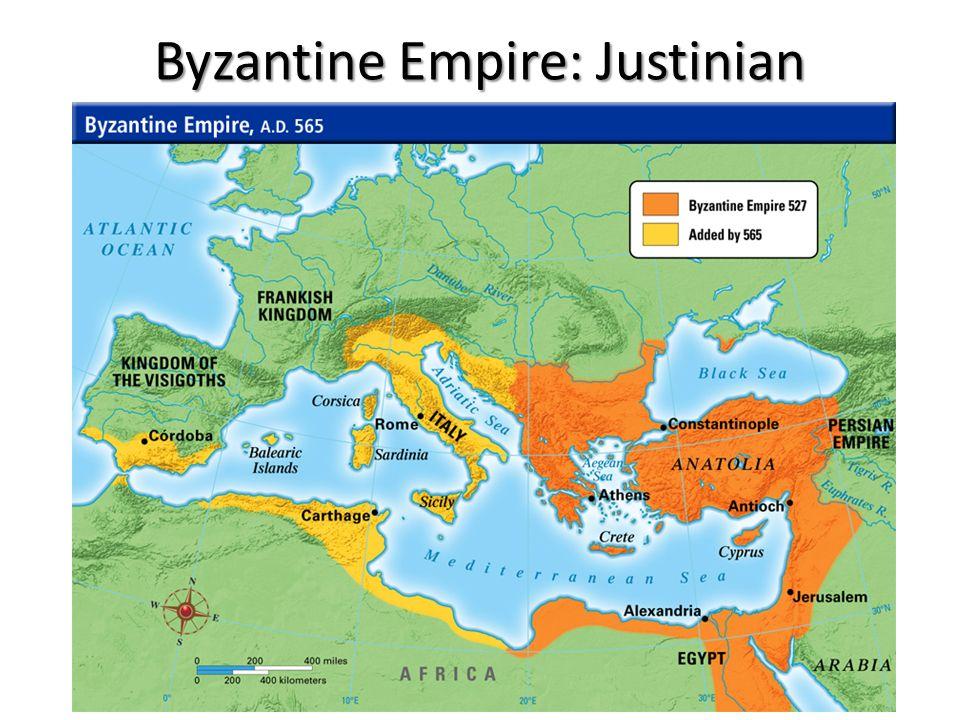 justinian byzantine empire