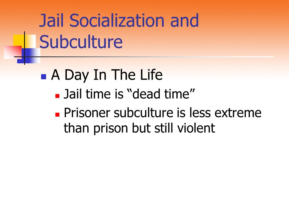 """Chapter 9 Jails Introduction Jails house the """"rabble"""" Distinguished"""