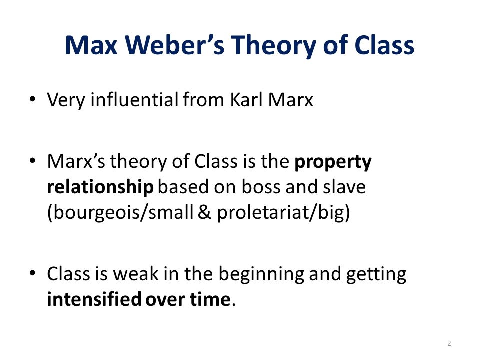 difference between max weber and karl marx