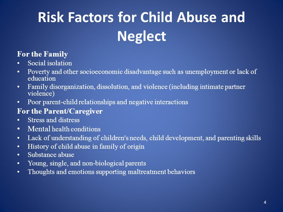 Definition of Child Abuse and Neglect Child abuse is any act that endangers a child's physical or emotional health and development.
