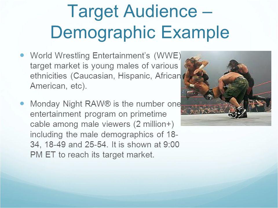 Target Audience and Persuasive Media Strategies  Target