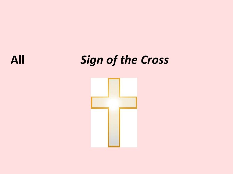 AllSign of the Cross